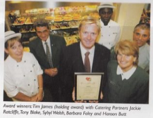 Healthy catering award