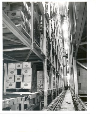 High Bay Warehouse, Bracknell 1974 | John Lewis Partnership Archive collection A/2802
