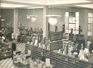 Nottingham - Jessops interior 1937 | John Lewis Partnership Archive collection
