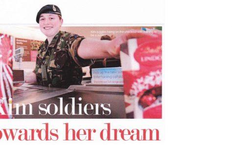 Kim soldiers
