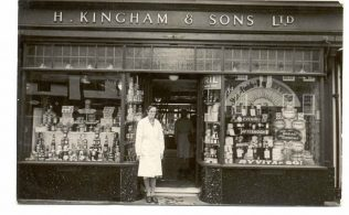 Kinghams Berkhamsted c1940 | John Lewis Partnership archives