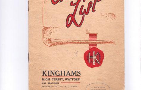 Henry Kingham and Sons Ltd