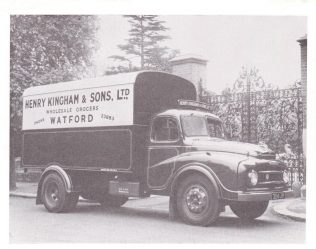 Henry Kingham and Sons Delivery Van | Acknowledgement to the John Lewis Partnership Archive