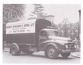 Van Boy at Kinghams Circa 1960