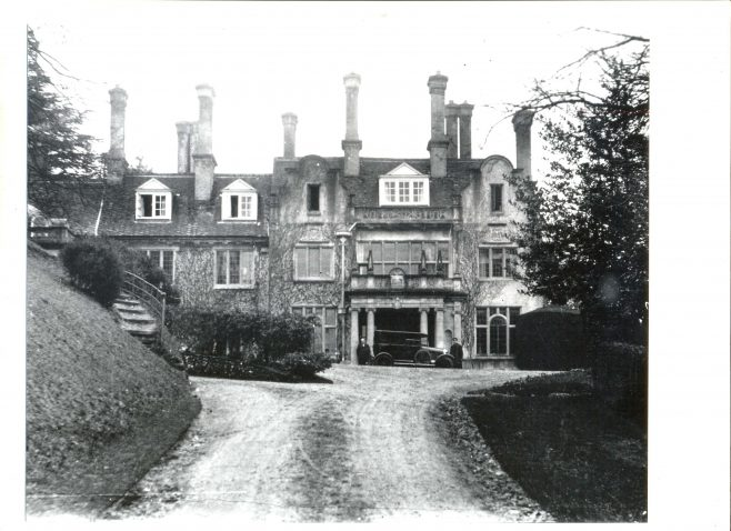 Leckford Abbas in the 1920s | John Lewis Partnership Archive collection