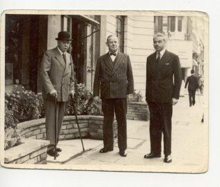 JH Todd, AV Davis, B Todd, 1950s | John Lewis Partnership archive collection