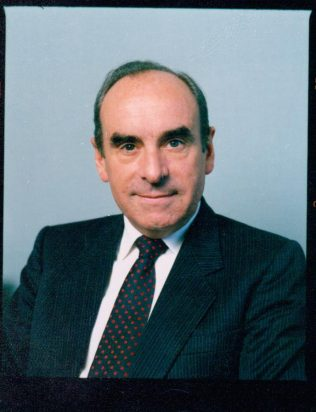 Mr P Falconer c1987 | John Lewis Partnership archives