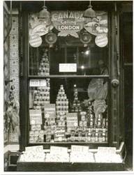 Window display Waitrose Muswell Hill 1937 | John Lewis Partnership Archive