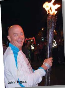 John's Paralympic Torch Relay