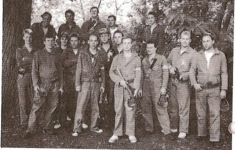 Paintball event - July 1989