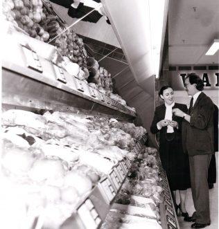 Pam Roche at John Barnes 1981 | John Lewis Partnership archives
