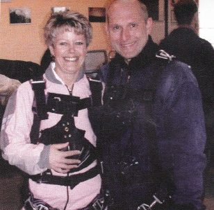 Parachute jump for Big C Appeal