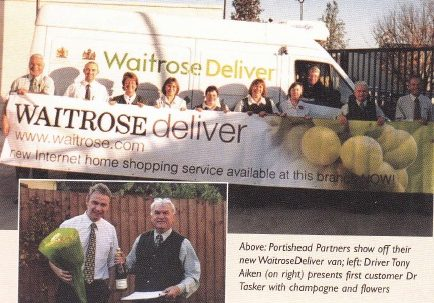 Portishead celebrates it's first delivery
