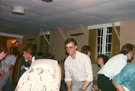 Social club barn dance 1988