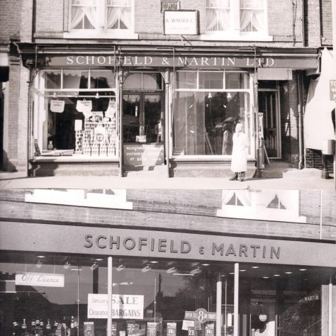 Schofield and Martin Wickford, c1959, pre and post conversion | John Lewis Partnership archives