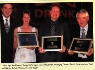 Scottish awards double