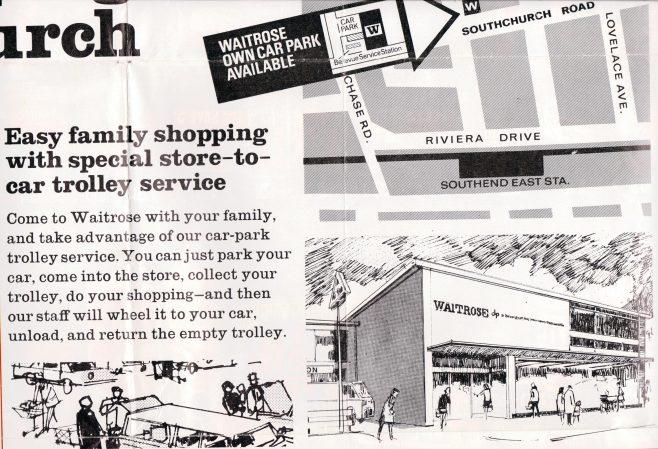 Waitrose Southchurch publicity c1970 | John Lewis Partnership archives