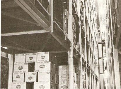 High-bay warehouse for Waitrose