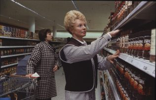 Mrs Janice Spriggs at new store   The Gazette