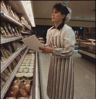 Miss Elizabeth Nield, an A-level trainee.   The Gazette