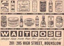 Hounslow handbill from 1950s | John Lewis Partnership Archive