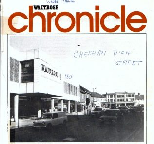 '130' in June 1987 was the  'in the limelight' branch | Waitrose Chronicle  6 June 1987