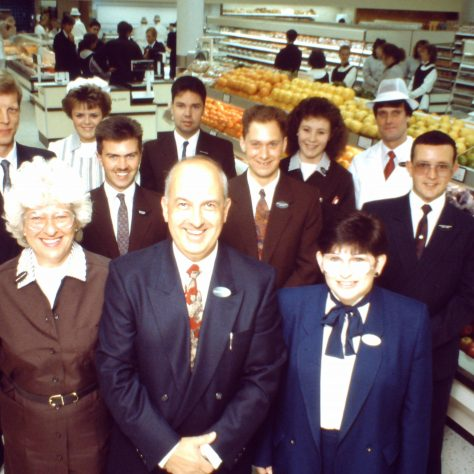 Andover management Partners opening day 1990 | John Lewis Partnership archive collection