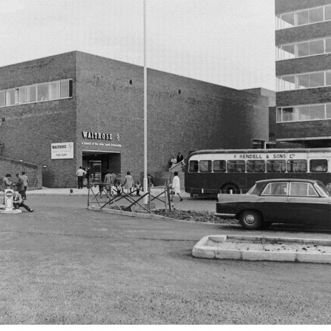 Andover rear entrance c1970 | John Lewis Partnership archive collection
