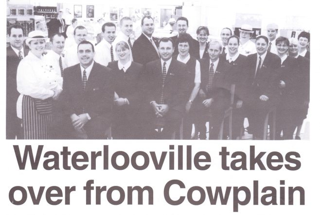 Waterlooville opening 2000   Waitrose Chronicle