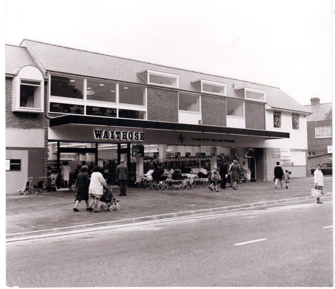 Waitrose Cowplain 1969   John Lewis Partnership archive collection