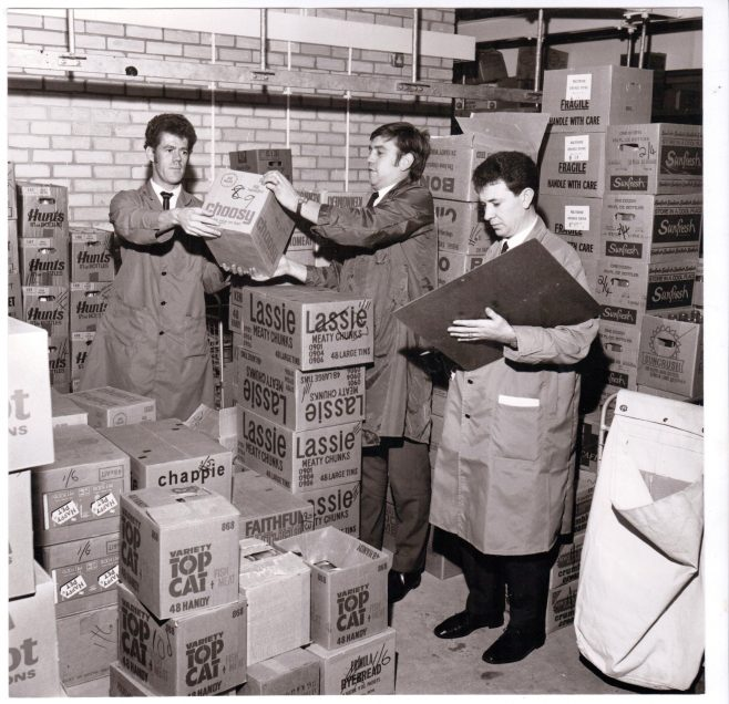 Cowplain Partners 1969, l-r Mr K Courtney; Mr G Ward and Mr J Glew - all served at sea   The Gazette