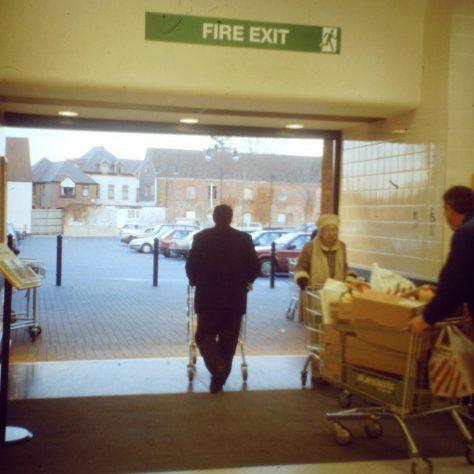 Godalming 'air doors' 1994   John Lewis Partnership archive collection