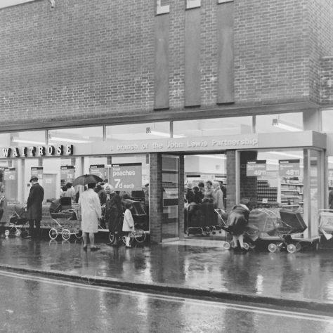 Waitrose Godalming 1969   John Lewis Partnership archive collection