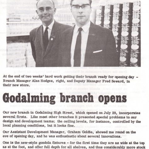 Waitrose Chronicle 1969   Waitrose Chronicle