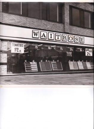 Waitrose Kenton 1965 | John Lewis Partnership archive collection