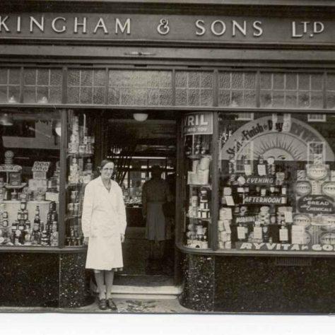 Waitrose Kinghams 1940s