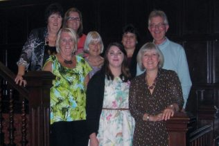 The Team with Helen Hyde (Personnel Director), top left Pam & Jo, second row Carol, Linda, Helen & Tony, front row Sian & Judy. | Carol Hill