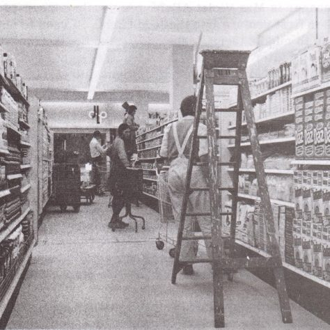 Waitrose Romsey pre-opening 1969 | Waitrose Chronicle