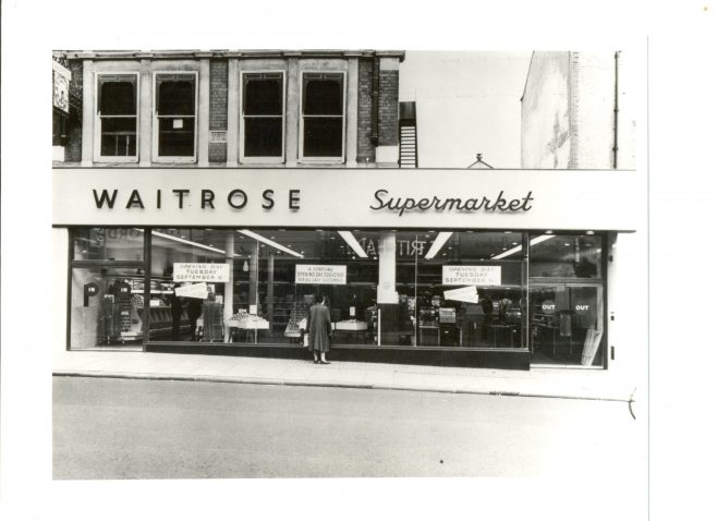 Streatham supermarket 1955 | John Lewis Partnership archive collection