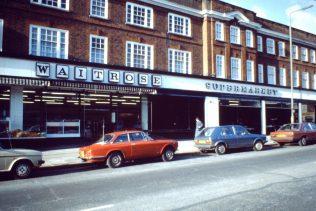 Waitrose Temple Fortune c1975 | The Gazette
