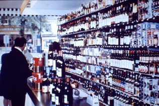 Witney wine department c1970 | John Lewis Partnership archive collection