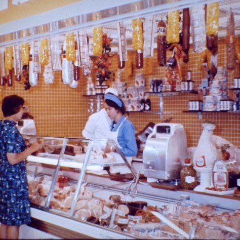 Waitrose Wokingham delicatessen counter c1970   John Lewis Partnership archive collection