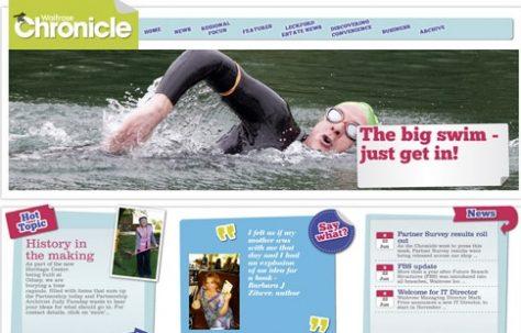 Waitrose Chronicle online magazine