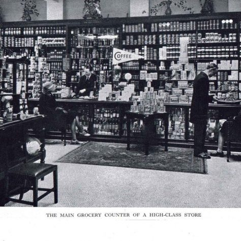Customer service at Gerrards Cross 1930s | John Lewis Partnership archives