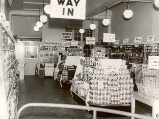 Waitrose Southend c1953   John Lewis Partnership archive collection