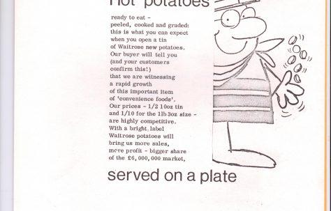 Waitrose Merchandise News