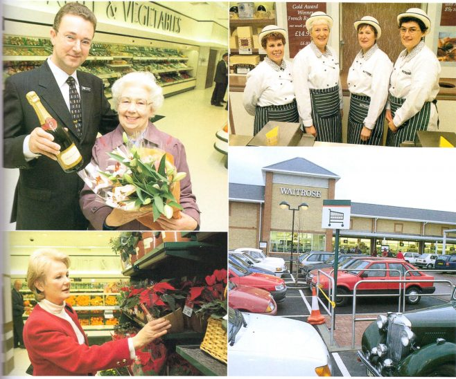 Waitrose Waterlooville opening 2000   The Gazette