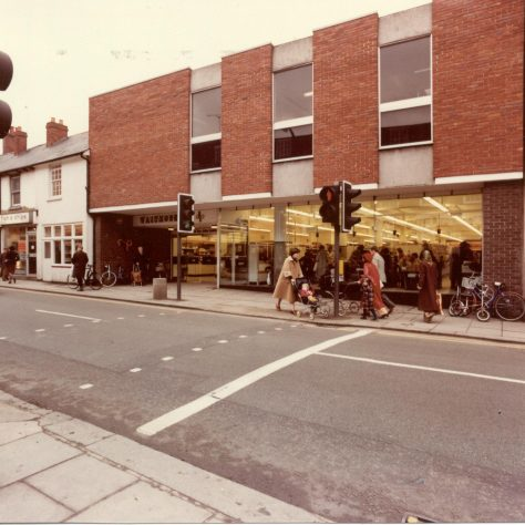 Waitrose Wokingham exterior 1981   John Lewis Partnership archive collection