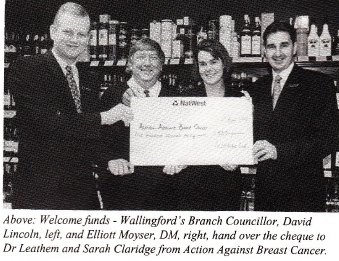 Wallingford helps worthy cause