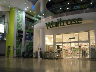 Customer Entrance inside the shopping centre | Store Planning Photo Library